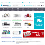 $30 off Purchases and Free Delivery @ Appliances Online (No Minimum Spend)
