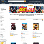 4K Ultra HD from $7.50 to $13 (e.g. Greatest Showman, Logan, Maze Runner, Kingsman, Xmen 1st Class) + Delivery @ Amazon AU