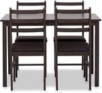 Sunshine 5 Piece Dining Suite Stools $69 (Was $169) @ Amart Furniture