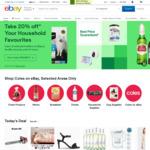10% off Sitewide @ eBay ($120 Min Spend, $100 Max Discount)