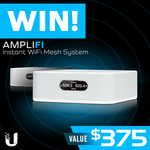 Win an Amplifi Instant Wi-Fi Mesh System Worth $375 from PC Case Gear