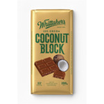 Whittakers Chocolate Blocks 200g-220g $3 @ Woolworths