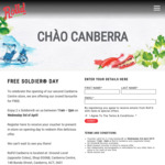 [ACT] 2 Free Rice Paper Rolls @ Roll'd (Canberra)