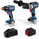 [Pre-Order] Bosch 18V Brushless 2 Piece 1x 8.0ah Combo Kit 0615990L4J $299 @ Total Tools