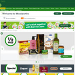 5% off Sitewide (Orders $200+) @ Woolworths