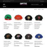 60% off Sitewide @ Capstar - Mitchell & Ness NBA Caps and New Era Caps