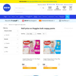 50% off Huggies Nappy Pants, Size 4, 5 & 6 $8 (Normally $16) @ Big W