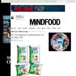 Win 1 of 5 The Natural Confectionery Co. Prize Packs Worth $139 from MiNDFOOD