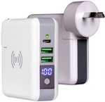 Laser PW-PBWC 3-in-1 Wireless Travel Wall Charger Powerbank $38 C&C/Shipster /+ $7.95 Delivery (Was $79.95) @ Harvey Norman