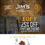 Jim's Jerky 25% off