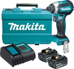 Makita 18V Cordless Impact Driver Kit with 2x 3.0ah Batteries $179 @ Bunnings