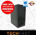 Ryzen 5 2600 GTX 1660 6GB 120GB SSD 8GB DDR4 Gaming PC $699.30, Ryzen 3 2200G 120GB SSD 16GB DDR4 $359.10 @ eBay Techfast