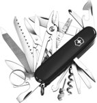 Victorinox Swiss Army Knife Swiss Champ, Black $86.99 Delivered @ Amazon AU
