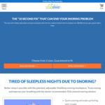 Vital Sleep Anti-Snoring Mouthpiece - Adjustable and Self-Molded $54.95 USD / $81.52 AUD Free Shipping @ VitalSleep