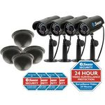 Swann Imitation Anti-Theft Security Kit Including 4 Cameras- $9.67 on Clearance @ Officeworks!