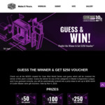 Win 1 of 9 $250/$100/$50 Online Store Vouchers from Cooler Master