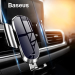 Baseus Air Vent Mount Metal Screen Glass Gravity Car Phone Holder AU $11.75 (Was AU $25) Delivered @ eSkybird