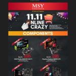 Gigabyte Radeon RX570  4GB $185, ASUS Nividia GTX 1660ti $395 Pickup @ MSY