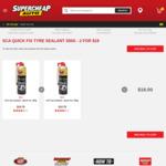 SCA Quick Fix Tyre Sealant 350g - 2 for $18 @ Supercheap Auto