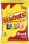 Starburst Original Fruit Chews 1KG - $7.35 + Delivery ($0 with Prime/ $39 Spend) @ Amazon AU