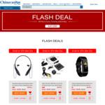 Bluetooth Headset US $3.99, Spy Cube Camera US $4.99, Smartwatch US $5.99 (AU $5.52/ $6.89/ $8.26) @ Chinavasion