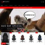 26% off Storewide - Ewin Gaming/Office/Ergonomic Seats @ E-Win