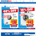 Simpson 4.5kg Vented Dryer $196 (Was $327) @ The Good Guys - in Store Only