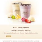 40% off New Lindt Lindor Strawberry & Cream / Lemon Milkshakes ($5.40) with Lindt Newsletter Subscription