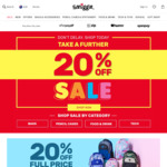 Further 20% off Sale on Bags, Pencil Cases, Food and Drink, and Tech Categories @ Smiggle