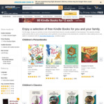 [Kindle] 173 Free Childrens and Fiction eBooks @ Amazon AU