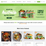 8 Meals for $58 (Minimum Spend $79.60) @ Youfoodz