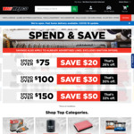 Spend $75 & Save $20, Spend $100 & Save $30 or Spend $150 & Save $50 @ Repco (Online Only)