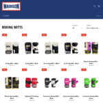 All Boxing Mitts Reduced to $5 (RRP between $34.95- $49.95) @ Madison Sport
