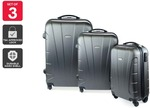 Orbis 3 Piece Hardside Spinner Luggage Set (Three Colors) $79.99 + Delivery ($0 with First) @ Kogan