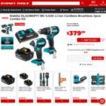 Makita DLX2180PT1 18V 5.0ah Li-Ion Cordless Brushless 2pce Combo Kit - $379 @ Sydney Tools
