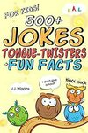 [eBook] Free - 500+ Jokes, Tongue-Twisters, & Fun Facts for Kids | Puzzles for Adults: An Activity Book Xmas $0 @ Amazon AU US