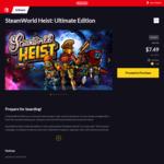 [Switch] - SteamWorld Heist Ult. Ed. $7.49/SteamWorld Quest: $18.99/Yoku's Island Express $9.18 - Nintendo eShop