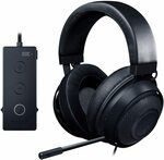 Razer Kraken Tournament Edition Gaming Headset (Black) $99 Delivered (RRP $169.95) @ Amazon AU