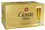 [eBay Plus] Crown Lager 375ml 24pk Carton $39 Delivered @ CUB eBay (NSW, VIC, ACT)