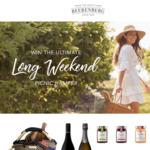 Win Ultimate Long Weekend Hamper worth $500 from Beerenberg