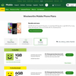 Woolworths Mobile | $60 | 180 Days | 12GB | Unlimited Calls & Text (+ $20 Cashback at Cashrewards)