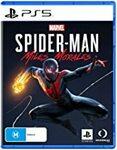 [PS5, Pre Order] Miles Morales $89, Sackboy A Big Adventure $99 Delivered @ Amazon AU