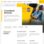 Commbank Rewards: $10 Cashback When You Spend $100 or More @ Coles Online