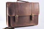 URBANBOGAN Al Brown Laptop Leather Bag $159.90 Delivered (Was $235.90) @ Urbanbogan via Kogan Marketplace