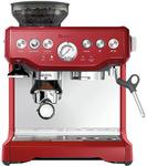 Breville Barista Express Coffee Machine BES870CRN Cranberry $599 @ Myer