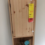 [NSW] SILVERAN Corner Unit - 40cm Light Brown $50 (RRP $189) @ IKEA Tempe