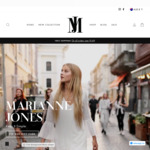 20% off Sitewide on Women Fashion Apparel & Accessories or Take an Extra 20% off on Sale Items @ Marianne Jones