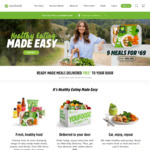 10 Youfoodz Meals for $69 + Delivery (Free for Selected Areas) @ Youfoodz