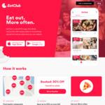 Extra $5 / $10 / $15 / $20 off In-App Takeaway Orders via 9 Codes ($1 Minimum Spend After Discount) @ EatClub