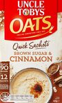 UNCLE TOBYS Oats Quick Sachets Brown Sugar 12 Sachets $2.12 ($1.91 S&S) + Delivery ($0 with Prime/ $39 Spend) @ Amazon AU